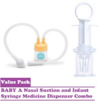 Baby Nose Nasal Suction and Medicine Syringe