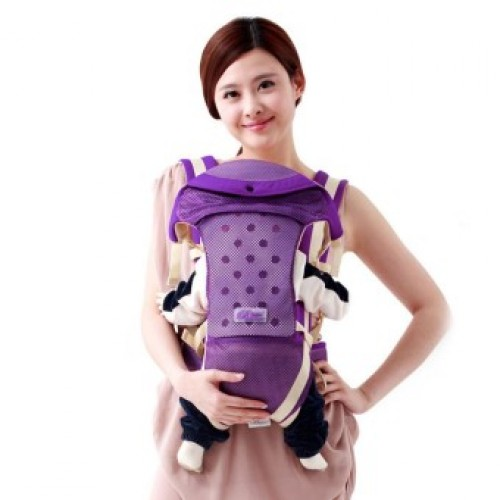 Cotton Baby Sling Backpack Shoulder Hip Seat Infant Kangaroo Baby