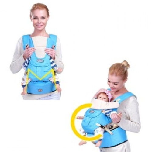 8548844412a 0-36m InfantToddler Ergonomic Baby Carrier Sling Backpack Bag Gear with Hipseat  Wrap Newborn Cover Coat ...