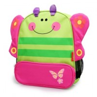 Cartoon Animal School Bag Backpack for Nursery Kindergarten Kids Children Toddler - Butterfly