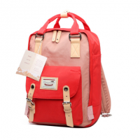 Mini Back Pack ( Red + Pink )