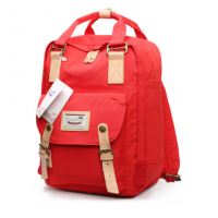 Doughnut Macaroon Mini Back Pack ( Red )
