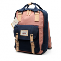 Doughnut Macaroon Mini Back Pack ( Blue + PInk )