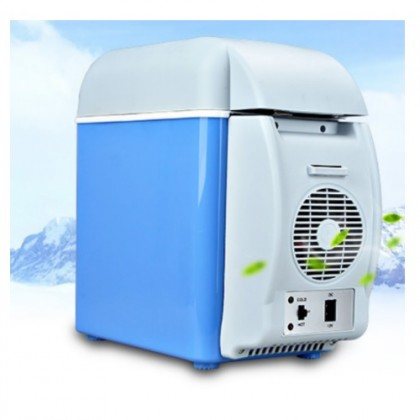 10L Mini Portable Car Fridge Cooling Warming Refrigerator Cooler Storage