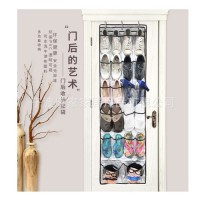 22 Space Transparent Hanging Storage Bag After Wall/Doors