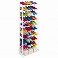 10 tiers Amazing Shoe Rack (Stainless Steel)