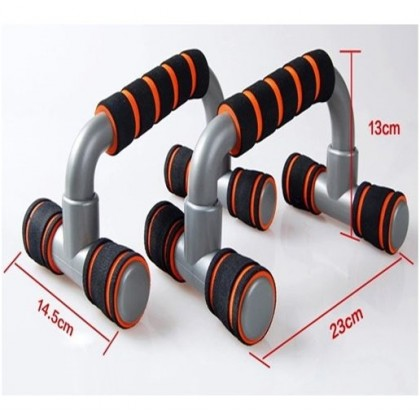 1 Pair H Type Gym Push Up Stand Fitness Bar Stand Handle Exercise Training