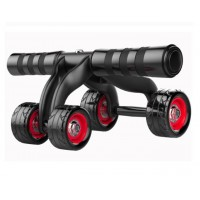 4 Wheels Ab Roller Pro Abdominal Muscle Training Exercise