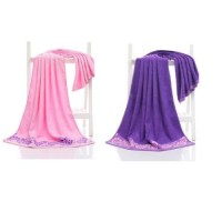 (Size: 70 X 140) Set of 2 Bamboo Fiber Bath Towel