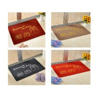 (40 x 60cm) Welcome Home Floor Anti Slid Doormat Welcome Rug Bathmat