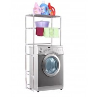 2-Tiers ( 68cm X 25cm X 136cm ) Washing Machine Rack and Shelf