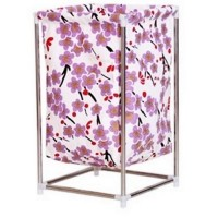 Fashionable Laundry Bin Storage Box with Stainless Steel Stand ?