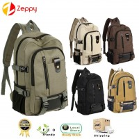 Korean Style Fashion Canvas Backpack Bag
