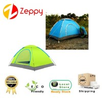 3 Person Family Camping Tent with Carry Bag