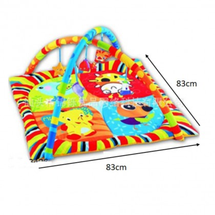 (Bigger 83 X 83) Activity play gym and Play Crawling Blanket Mat - Square