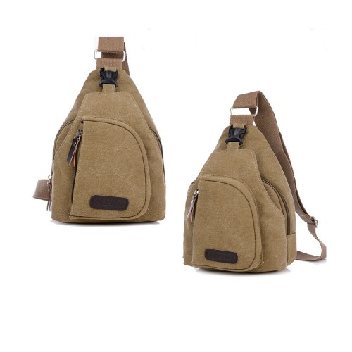 090afafc2f0 Fashi Cool Outdoor Sports Casual Canvas Unbalance Backpack Crossbody Sling  Bag Shoulder Bag Chest