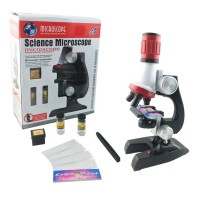 100-400-1200X Super Zoom Microscope Toy Kit Science Lab