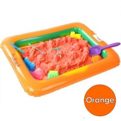 (Ready Stock) 2 kg Kinetic Sand Building Play Set