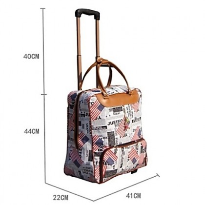 Large Capacity Waterproof Travel Bag Luggage Suitcase with Trolley