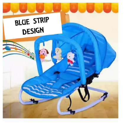 Baby Rocker Bouncer New Born Toddler Chair with Safety Belt