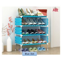 3 Tier Multi-Storey Non-Woven Fabric Shoes Rack