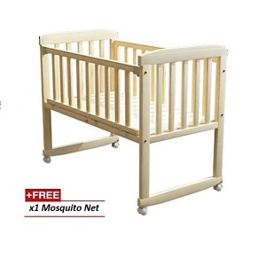 Cradle Baby Cot Wooden Rocking baby cot Baby bed