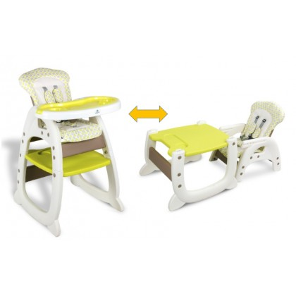 2 in 1 Multi Purpose Baby High Chair Child Dining Chair