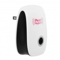 Ultrasonic Electronic Indoor Anti Mosquito Rat Pest Control Repeller (US Plug)