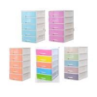 5 Tier Plastic Storage Drawer