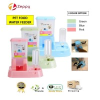 Japanese Style 2 IN 1 Automatic Pet Food Water Feeder Dispenser