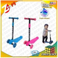 Children Kids Scooter Adjustable Height Flash Wheels