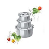 3 in 1 Stainless Steel Pot
