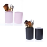 12 plastic bucket make-up sets of brush