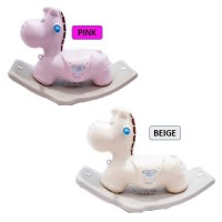 New Premium Quality Design Pony Tails Rocking Horse (Cutie Face)