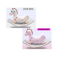 New Premium Quality Design Pony Tails Rocking Horse (Unicorn Design)