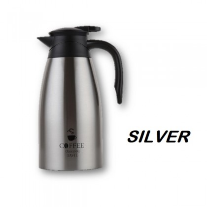 2L (2000ml) Stainless Steel 304 Coffee Pot Thermal Thermo Vacuum Flask