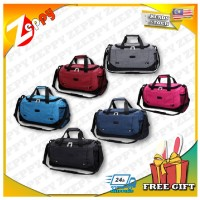 Unisex Large Capacity Duffel Tote Shoulder Travel Luggage Bag