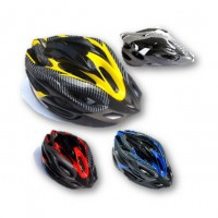 Carbon Fiber Mountain Bike Adult Cycling Helmet Breathable