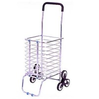 6 Wheels Foldable Shopping Grocery Trolley Shopping Cart