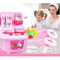 16 pcs Children Simulation Pretend Play Kitchen Cooking Play Set Toys