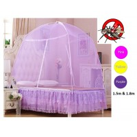 Portable Folding Bedding Canopy Mosquito Netting Tent (1.5m & 1.8m)