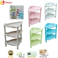 Multi-function 3 Layers Kitchen Bathroom Corner Storage Shelf Rack
