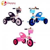 Children Kids Tricycle 3 Wheels Bicycle Ride On Bike With Basket