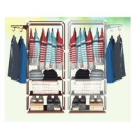 Garment Rack and Shelves