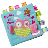 Baby Early Learning Oodles Of Fun Cloth Book Educational Toy