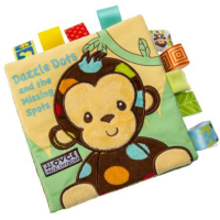 Baby Early Learning Dazzle Dots and The Missing Spots Cloth Book