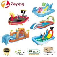Big BESTWAY Play & Grow Pool inflatable interactive pool swimming kids family