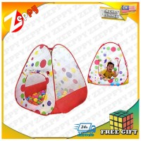 Large Portable Foldable Baby Children Kid Play Tent Play Hut Gym House