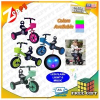 Stylish Design Kids 3 Wheels Tricycle Bike with Flash Light and Music