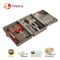 25 Pieces Multi-Functional Home Hardware Tools Kit Set With Box